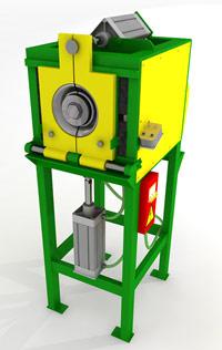 Оборудование для производства систем водостока - Станок гибочный для колена систем водостока (коленогиб)